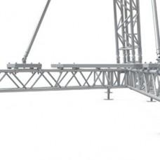 Монтаж алюминиевых ферм MRT2