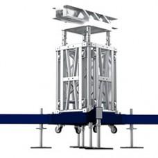 Башня подъёмной системы MT3 для монтажа сценической конструкции