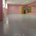 ДК Литвинки - монтаж оборудования для занятий хореографией