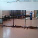 СДК Раменки - монтаж хореографических станков и зеркал
