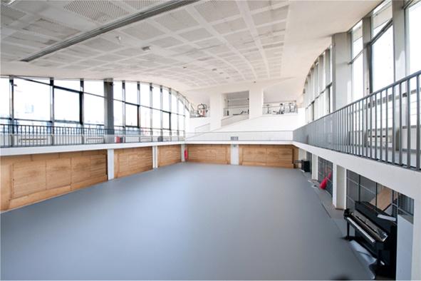 Сценический линолеум Парижской Высшей национальной консерватории
