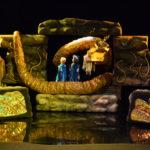 Театр купол - поставка глянцевого покрытия Garbo Las Vegas Lux