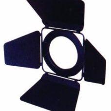 Barn doors ML Multi Spot black - шторки кашетирующие