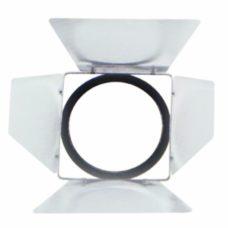Кашетирующие шторки Barn doors ML Multi Spot silver