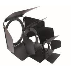 Кашетирующие шторки Barn doors PAR-46, black