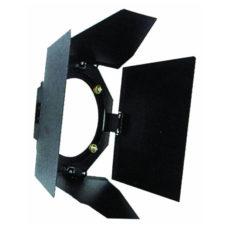 Кашетирующие шторки Theatre 650/1000 черного цвета