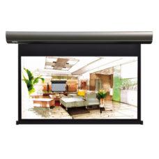 Настенный проекционный экран с электроприводом Lumien Cinema Control 187x305 см