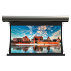 Настенный проекционный экран с электроприводом Lumien Cinema Tensioned Control 155x235 см