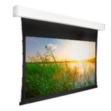 Настенный проекционный экран с электроприводом Projecta Tensioned Elpro Concept 173x300 см