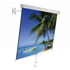 Настенный рулонный проекционный экран Projecta FlexScreen 145x145 см