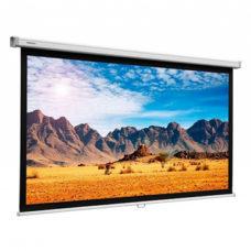 Настенный рулонный проекционный экран Projecta SlimScreen 117х200 см