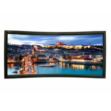 Натяжной проекционный экран Lumien Cinema Home Curved 148x252 см